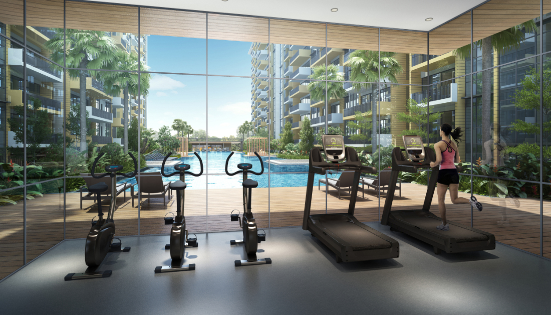 The Vales Executive Condominium Gym