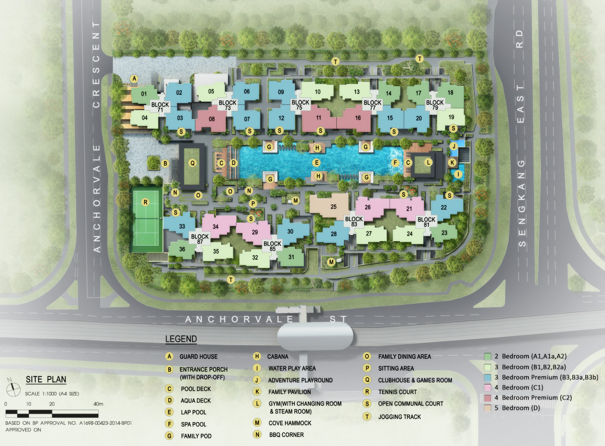 The Vales Site Plan :: Vales EC Site Plan